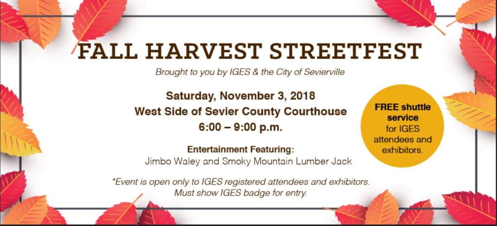 Fall Harvest Street Fest artwork