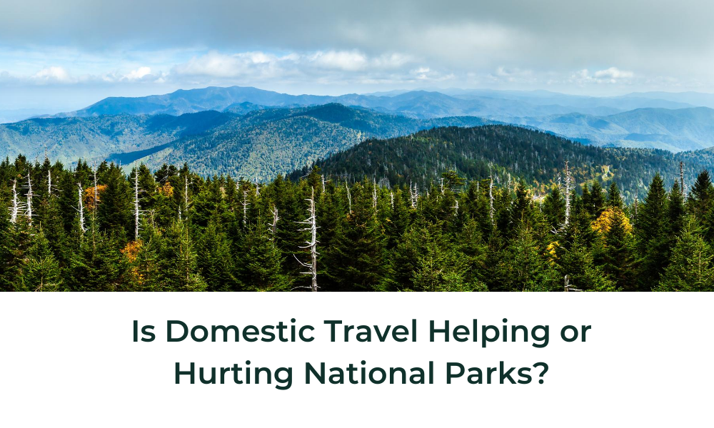 Is Domestic Travel Helping or Harming National Parks