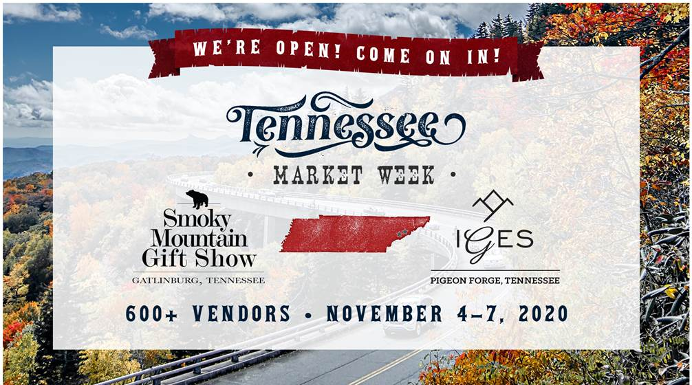 We're Colocating with the Smoky Mountain Gift Show